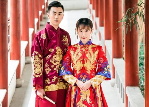 中式婚礼写真